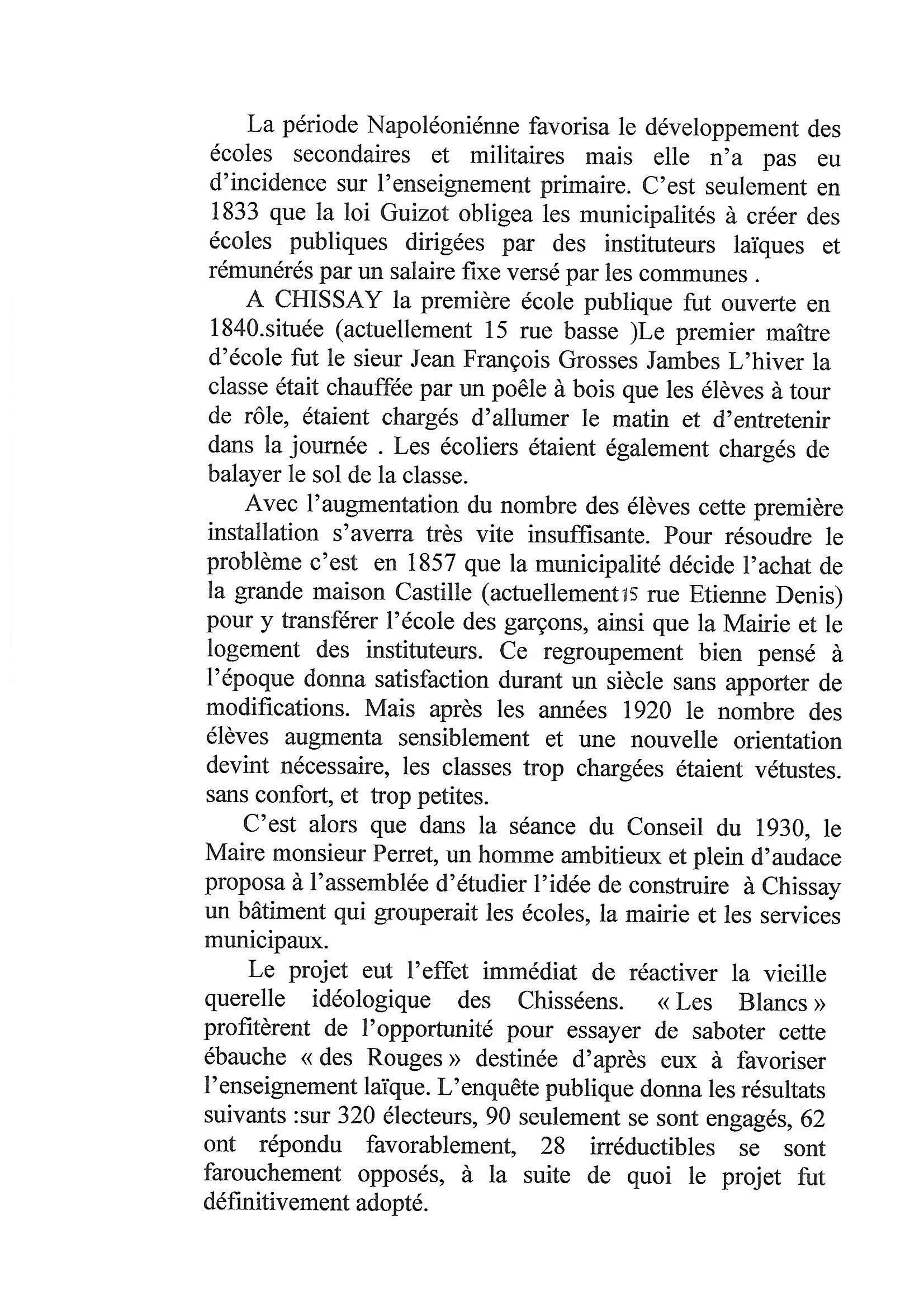 Groupe scolaire de Chissay page 2 - image/jpeg